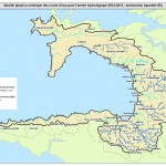 Carte ammonium SAGE baie Douarnenez 2012 - 2013