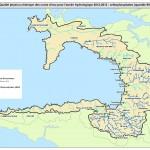Carte orthophosphates SAGE baie Douarnenez 2012 - 2013
