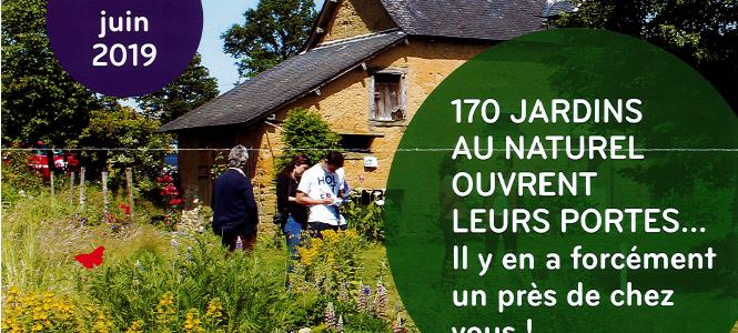"""15 & 16 juin : Opération """"bienvenue dans mon jardin en Bretagne"""""""